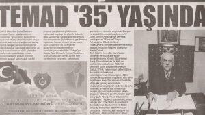 TEMAD 35 YAŞINDA