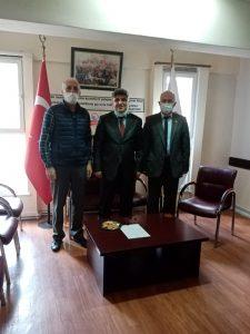 Sayın Tanju ARAT ve Kazım İlhan Derneğimizi ziyaret ederek çalışmaları hakkında bilgilendirme yapmışlardır.